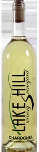 Chardonel Wine Bottle